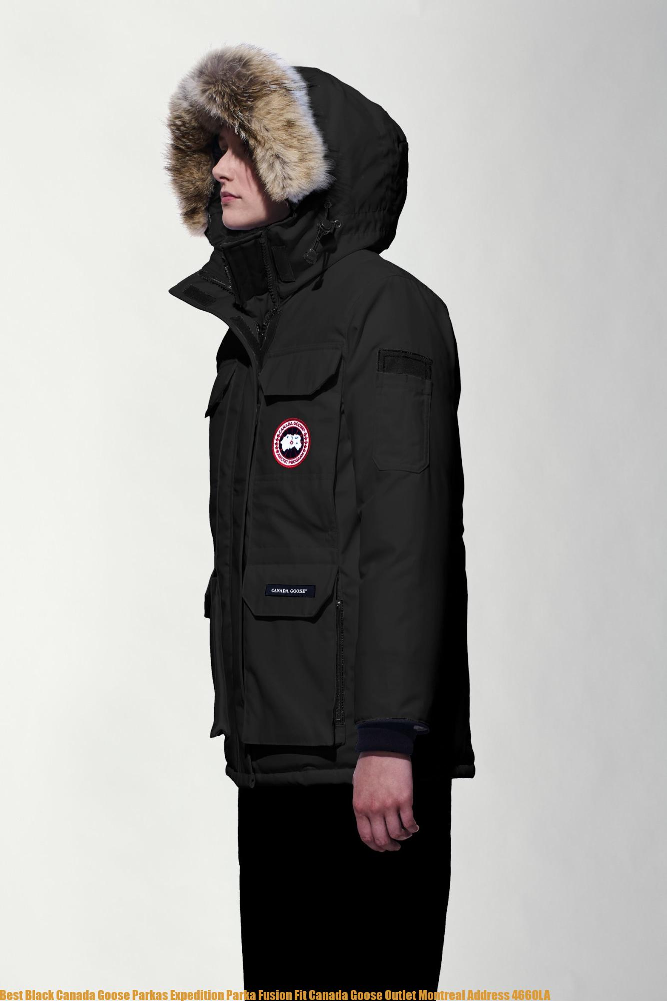 buy popular c02ad e4ce5 Best Black Canada Goose Parkas Expedition Parka Fusion Fit Canada Goose  Outlet Montreal Address 4660LA
