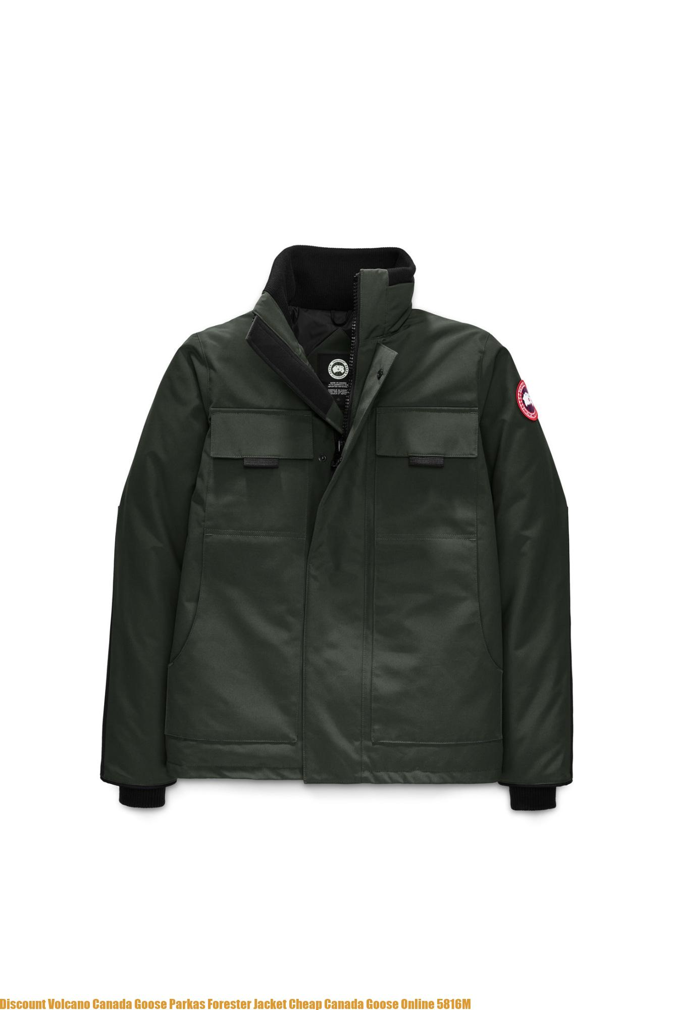 4316bb60cfc Discount Volcano Canada Goose Parkas Forester Jacket Cheap Canada Goose  Online 5816M – Cheap Canada Goose Outlet Down Jackets & Parkas On Sale 75%  Off