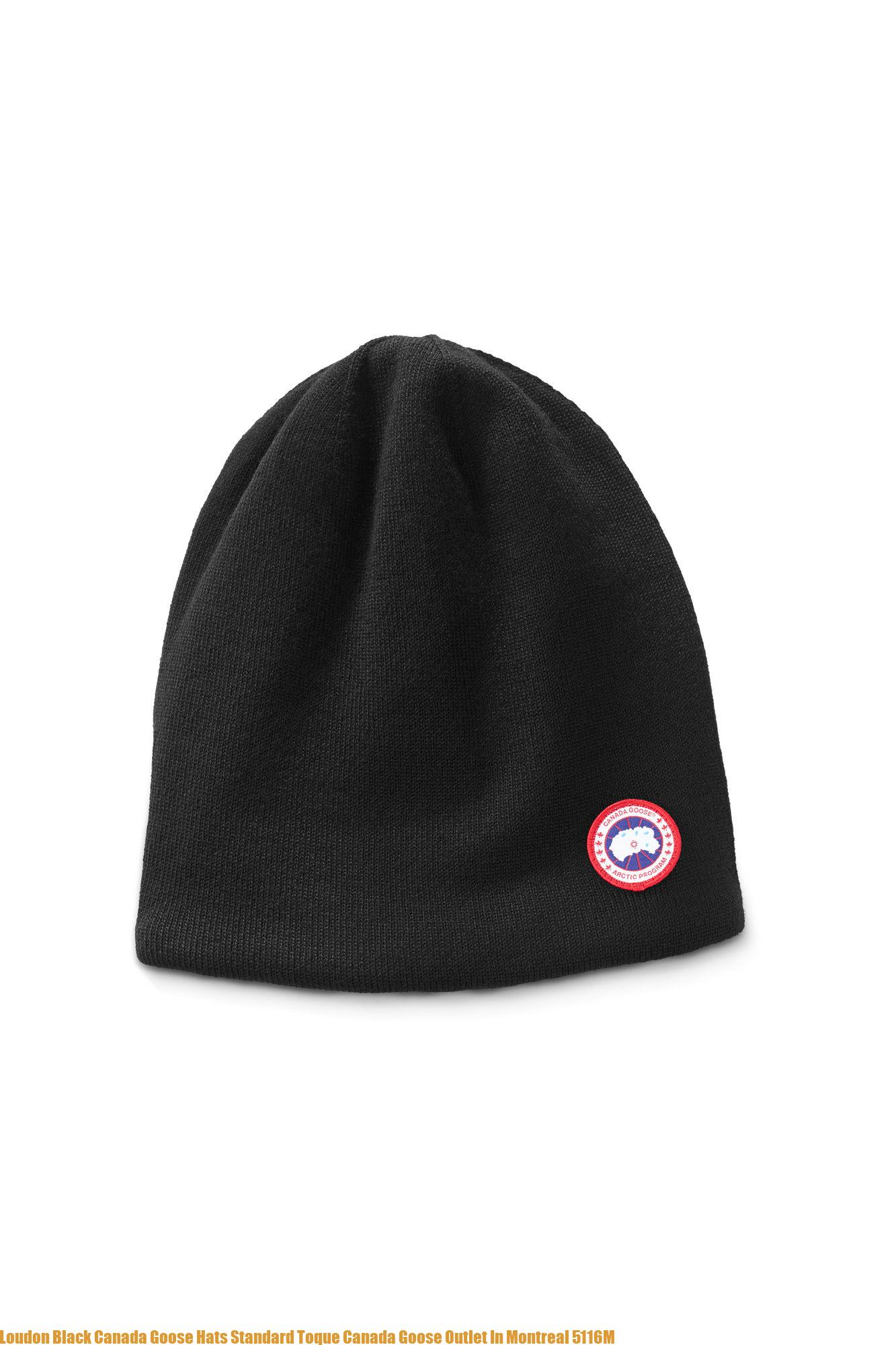 d26997dd5120c Loudon Black Canada Goose Hats Standard Toque Canada Goose Outlet In  Montreal 5116M – Cheap Canada Goose Outlet Down Jackets & Parkas On Sale  75% Off